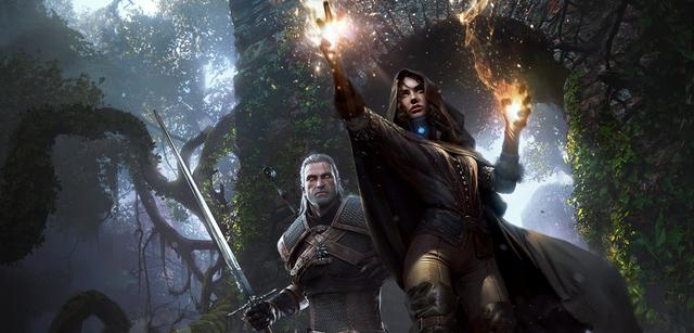 Yennefer und Geralt in The Witcher 3