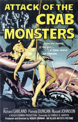 Attack of the Crab Monsters - Poster
