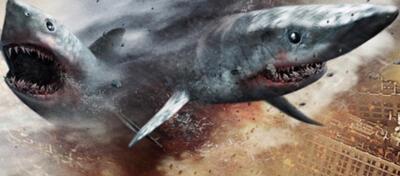 Zwei Haie im Sturm (Sharknado - Genug gesagt!)