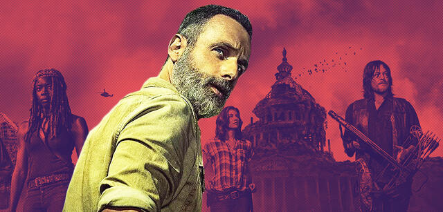 Andrew Lincoln als Rick Grimes in The Walking Dead