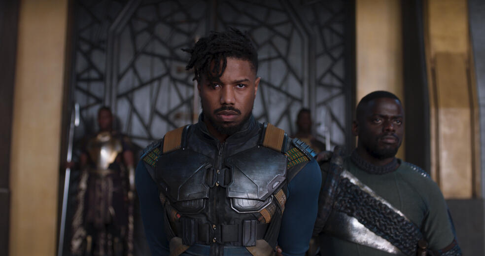Black Panther mit Michael B. Jordan