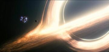 Das Schwarze Loch Gargantua in Interstellar