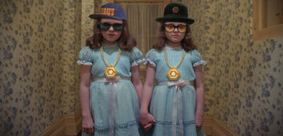 Hipster-Twins: Come play with us, Danny.