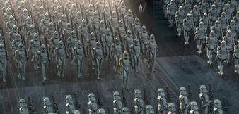 CG-Klonkrieger in Star Wars: Episode 2