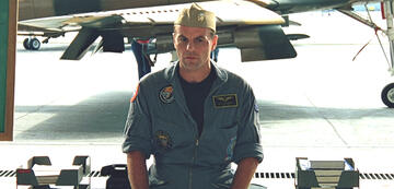 Michael Ironside in Top Gun