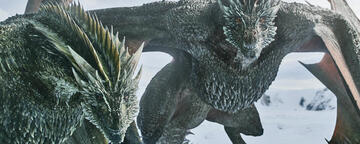 Game of Thrones: Drogon und Rhaegal