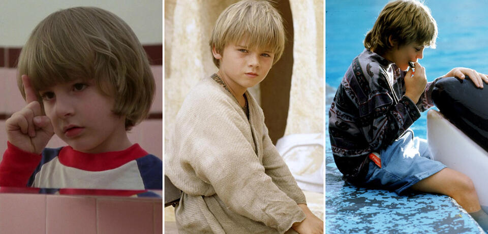 Danny Lloyd, Jake Lloyd und Jason James Richter