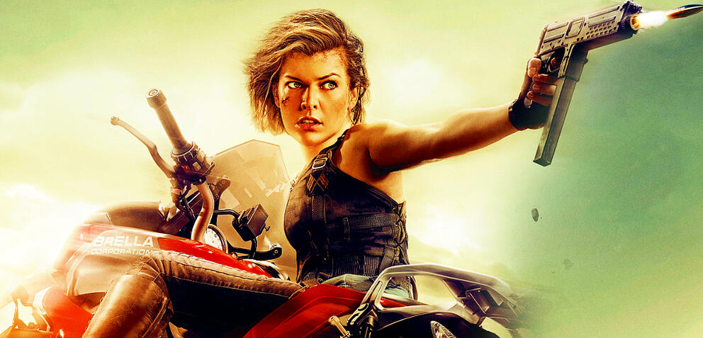 Milla Jovovic als Alice in Resident Evil 6: The Final Chapter