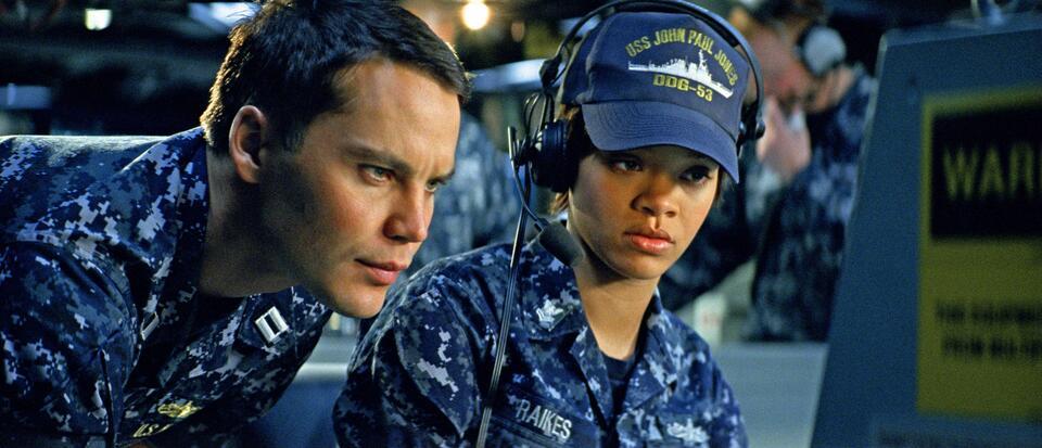 Battleship mit Taylor Kitsch und Rihanna