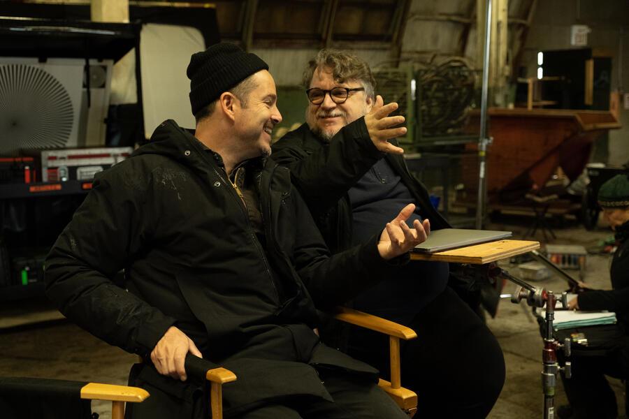 Antlers mit Guillermo del Toro und Scott Cooper