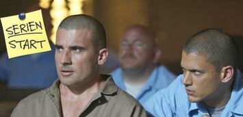 Bild zu:  Prison Break mitDominic Purcell und Wentworth Miller