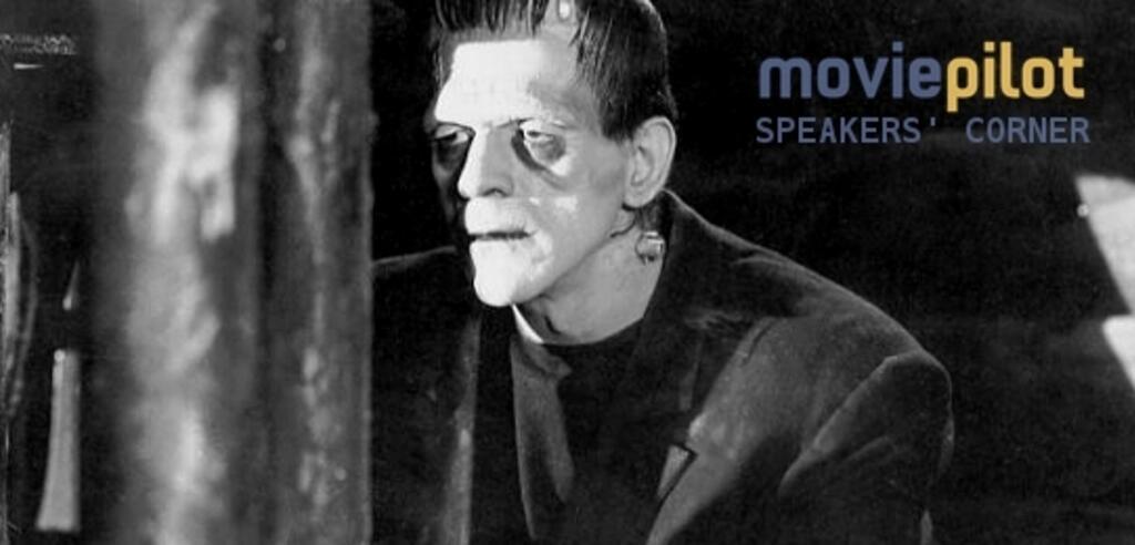 Boris Karloff als Frankensteins Monster