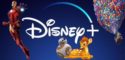 Disney+ mit seinen Themenwelten: MCU, Star Wars, Pixar und Disney Animation