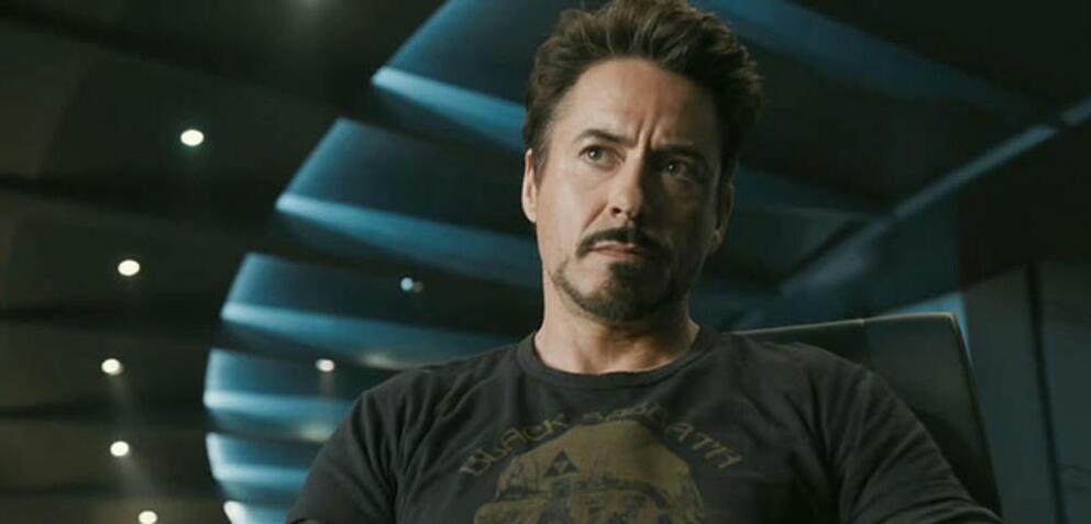 Robert Downey Jr. hautnah.