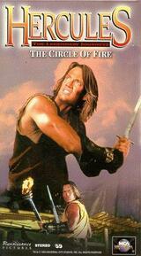 Hercules und der flammende Ring - Poster