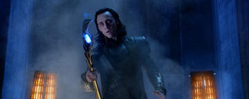 Tom Hiddleston als Loki in The Avengers