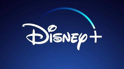 Das Logo von Disney+