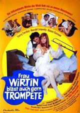 Frau Wirtin bläst auch gern Trompete - Poster