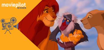 Bild zu:  Der König der Löwen, einer von vielen Disney-Zeichentrickfilmen
