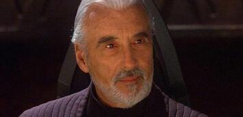 Bild zu:  Christopher Lee in Star Wars