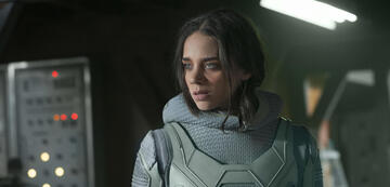 Hannah John-Kamen in Ant-Man and the Wasp