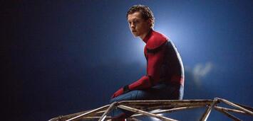 Bild zu:  Tom Holland in Spider-Man: Homecoming