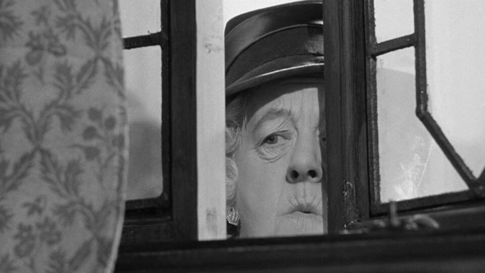 Der Wachsblumenstrauß mit Margaret Rutherford