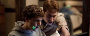 Jesse Eisenberg als Mark Zuckerberg