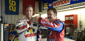 Will Ferrell und John C. Reilly in Ricky Bobby