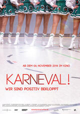 Karneval! - Wir sind positiv bekloppt - Poster