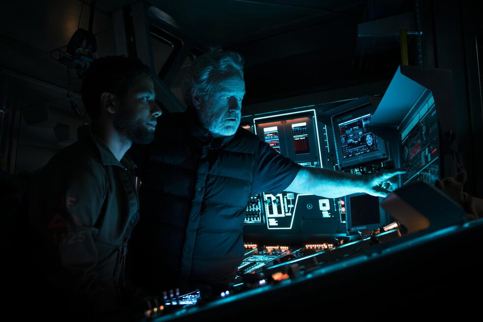 Alien: Covenant mit Ridley Scott und Jussie Smollett