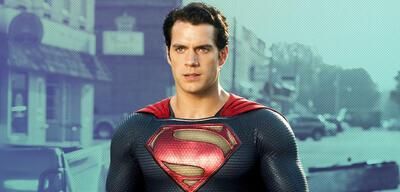 Henry Cavill als Superman in Man of Steel