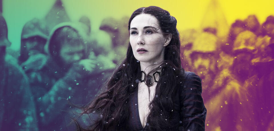 Melisandre in Game of Thrones