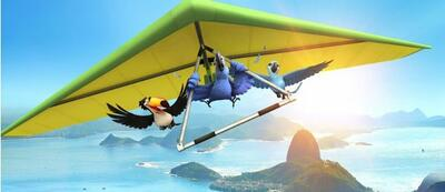 Der Tukan Rafael, Blu und Jewel fliegen nach Rio