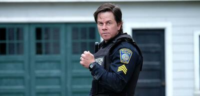 Mark Wahlberg in Boston.