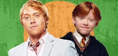 Rupert Grint in Snatch und Harry Potter