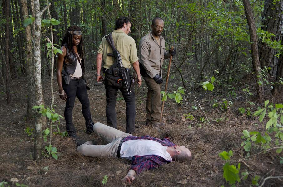 Glenn From Walking Dead As Dog