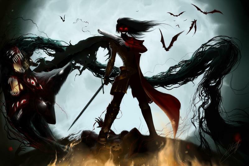 Mein Herz Für Serie Hellsing Ultimate Mehr Als Blutiges Vampir