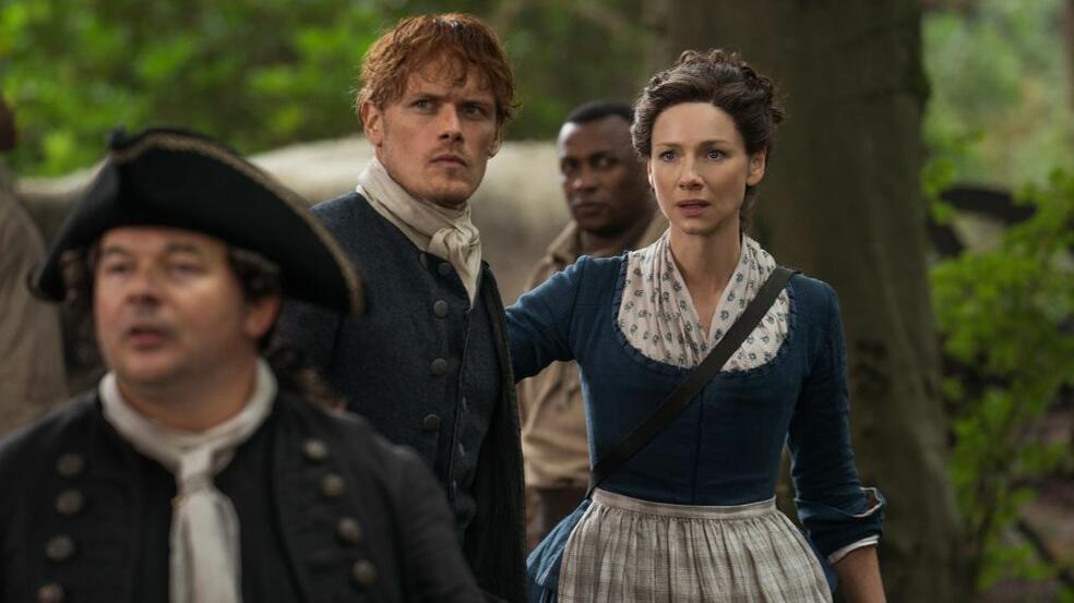 Outlander - Staffel 4 mit Caitriona Balfe und Sam Heughan