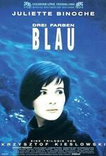Drei Farben - Blau Poster