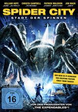 Spider City - Stadt der Spinnen - Poster