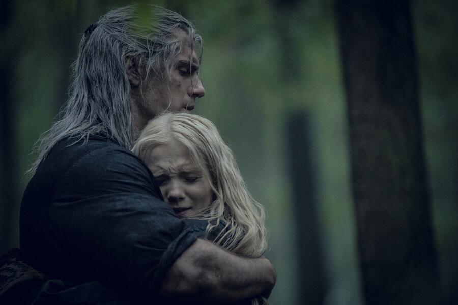 The Witcher, The Witcher - Staffel 1 mit Henry Cavill und Freya  Allan
