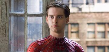Tobey Maguire als Spider-Man aka Peter Parker