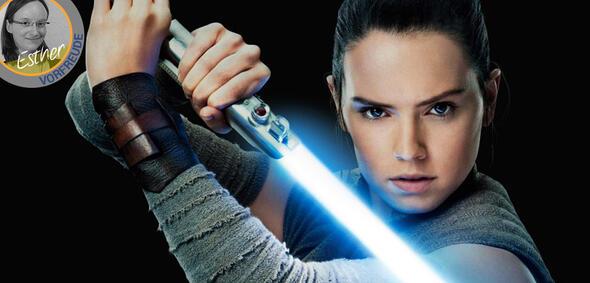 Daisy Ridley in Star Wars - Die letzten Jedi