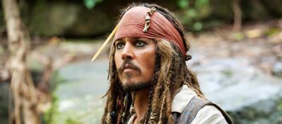 Johnny Depp als Jack Sparrow
