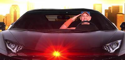 Knight Rider mit John Cena (Ja, das Bild ist offiziell)
