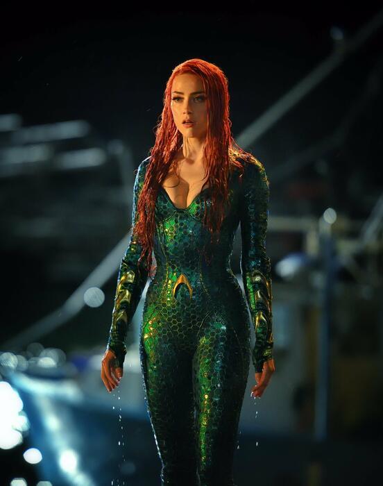 Aquaman mit Amber Heard