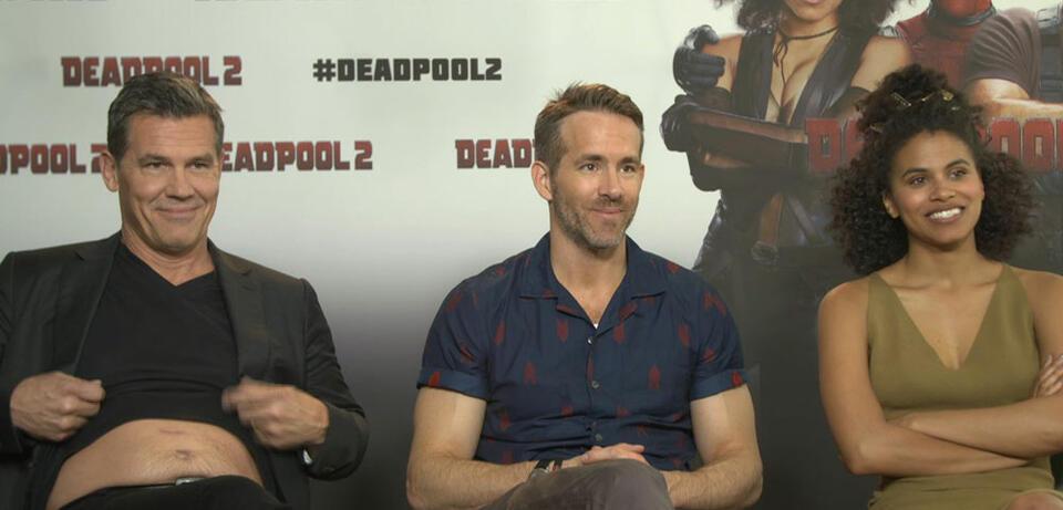 Deadpool 2 Interview