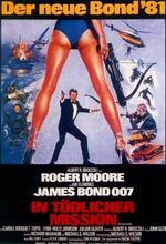 James Bond 007 - In tödlicher Mission Poster