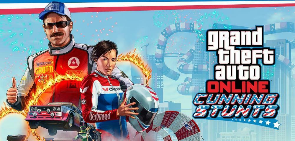 """GTA Online – Neuer DLC """"Cunning Stunts"""" macht GTA 5 zum Fun-Racer"""